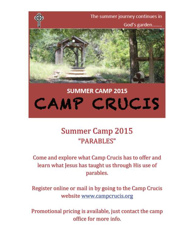 2015 Camp Flyer DIOFWPARISHES
