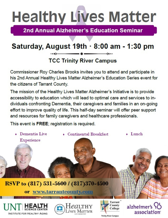 August 19 at TCC Trinity River Campus