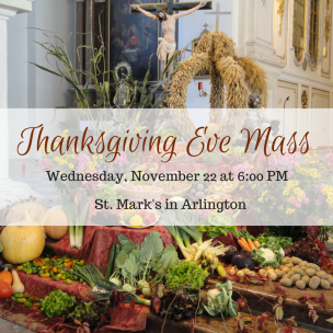 Thanksgiving Eve Mass